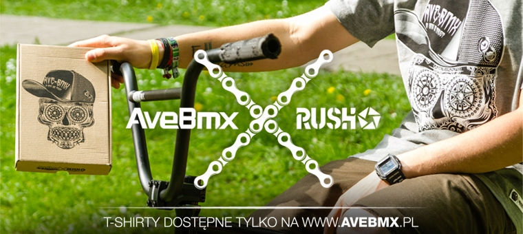 AveBmx x Rush collabo shirt